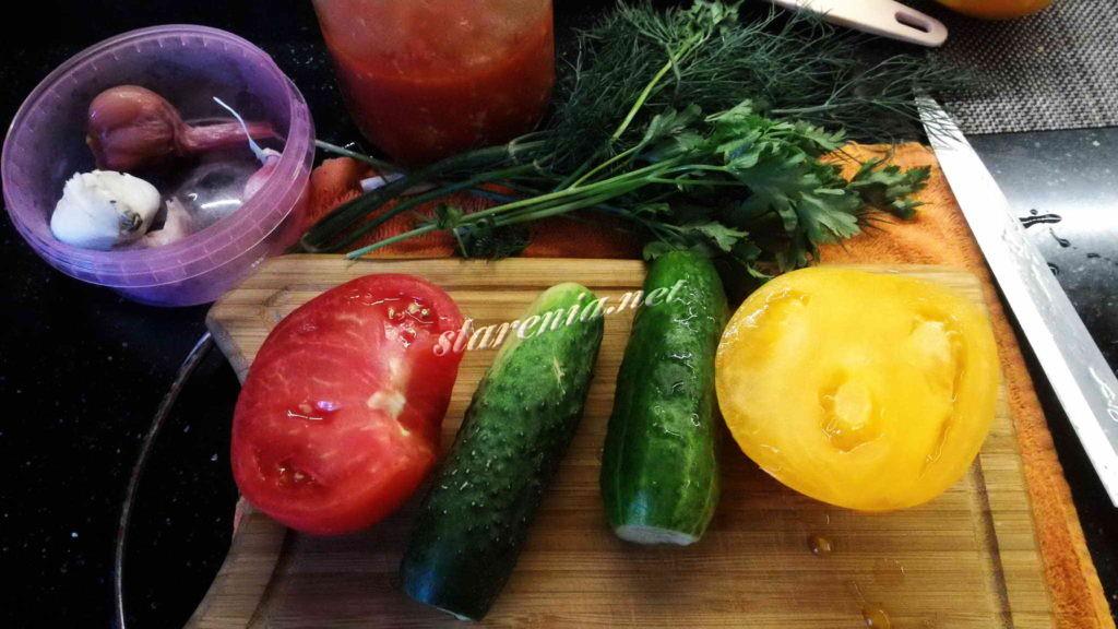 17. Крошка-картошка. Овощи для салата