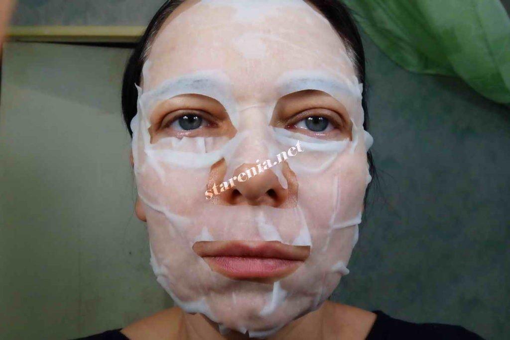 Японская маска с гиалуроновой кислотой