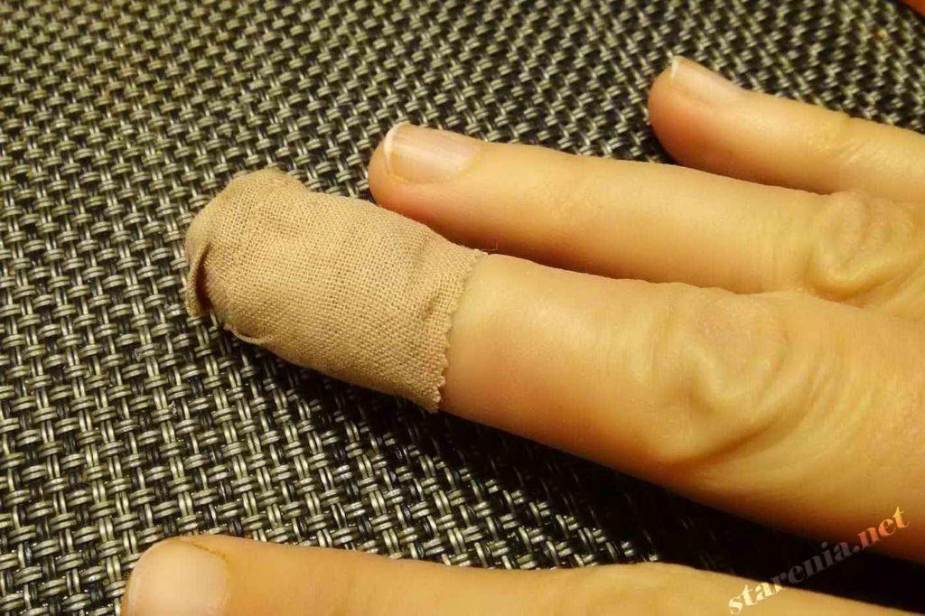 Потрясающая глупость - пластырь на рану