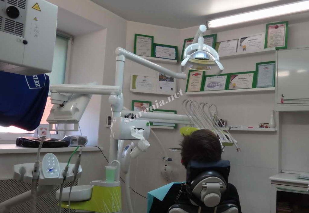 На консультации у ортодонта